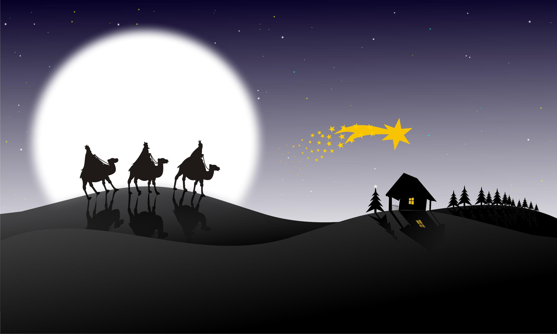 Christmas Wise Men Star